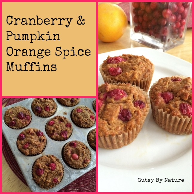 Cranberry Pumpkin Orange Spice Muffins