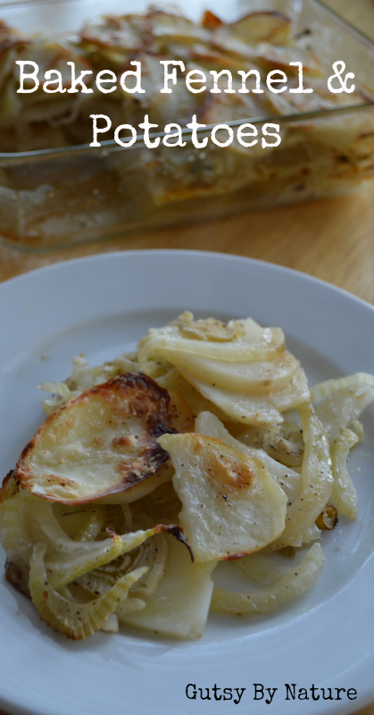 Baked Fennel and Potatoes 3