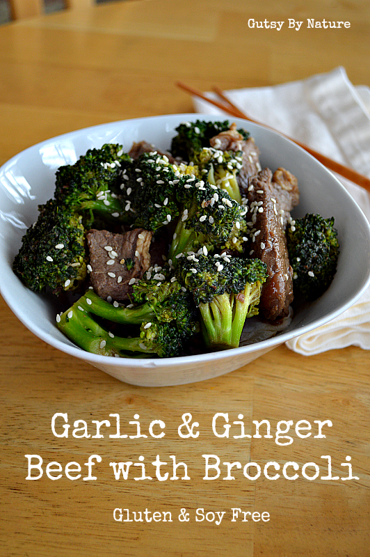 Garlic & Ginger Beef with Broccoli