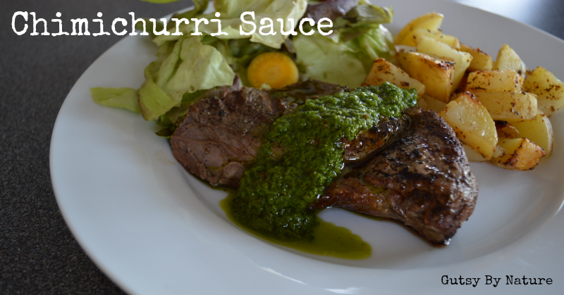 Chimichurri Sauce - Gutsy By Nature