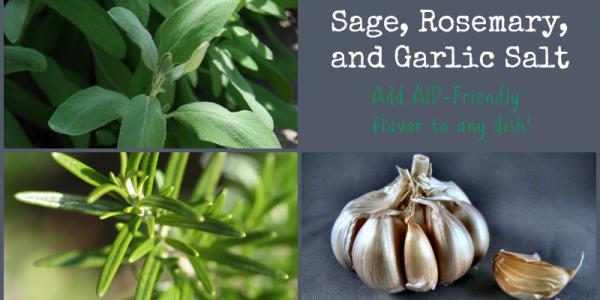 Sage Rosemary Garlic Salt