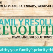 Family Resolution Revolution - Coming Soon