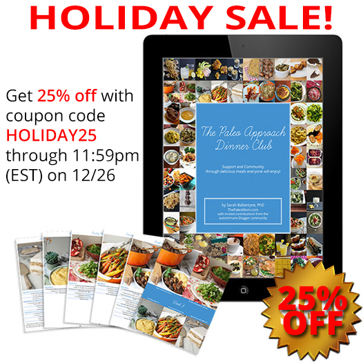 The Paleo Approach Dinner Club Holiday Sale