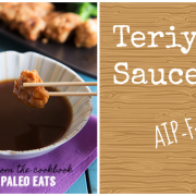 Teriyaki Sauce collage