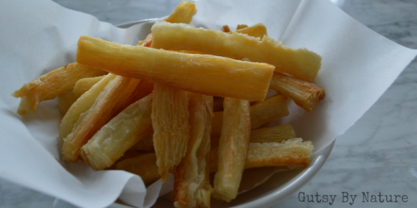 oven yuca fries